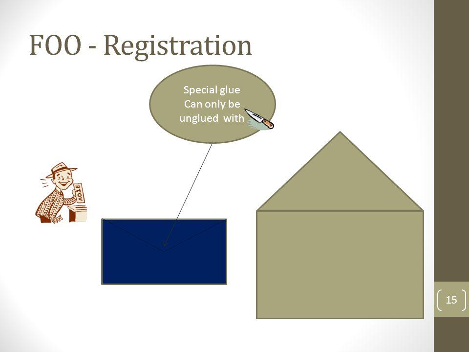 FOO - Registration 16 Carbon paper