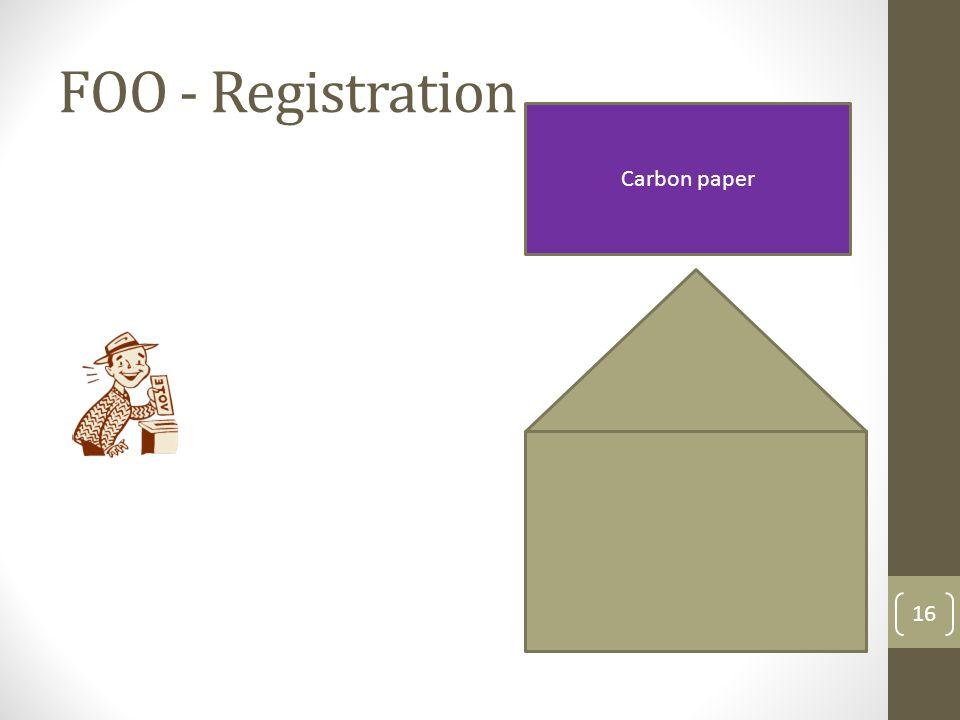 FOO - Registration 17