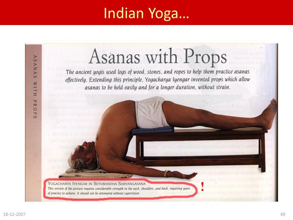 Indian Yoga… 18-12-200769
