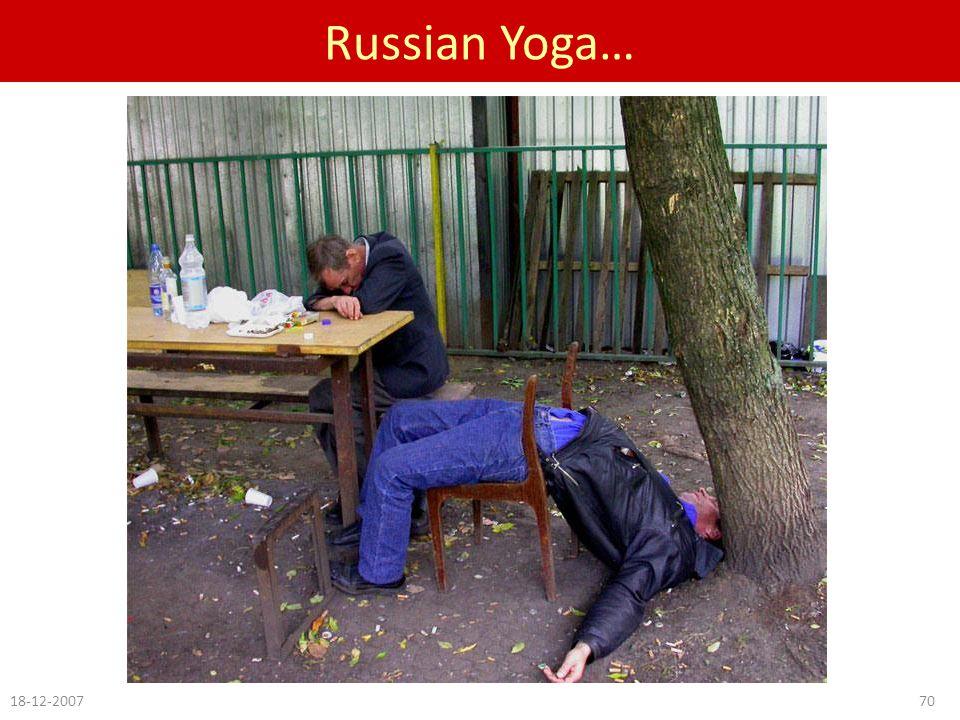 Russian Yoga… 18-12-200770