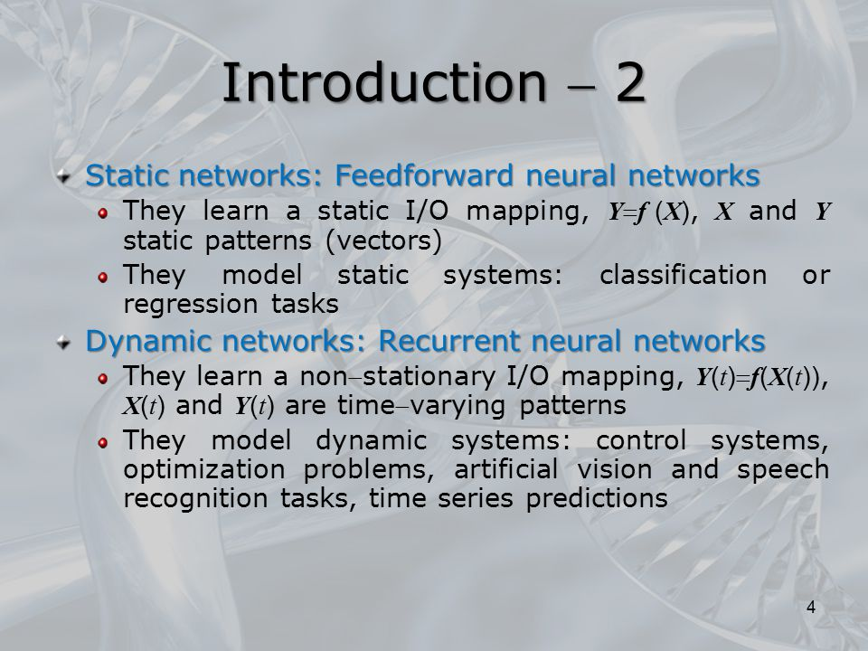 Remark In the general case of networks with any number of inputs and outputs, the hidden layer must contain q sets of units, each of which consists of a number of neurons equal to the possible permutations on the inputs: o!, if o is the maximum outdegree of the structures to be learnt 85 Recursive models for non positional graphs  4