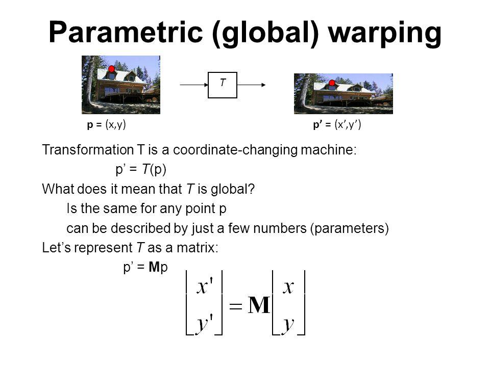 Basic 2D Transformations Basic 2D transformations as 3x3 matrices Translate RotateShear Scale