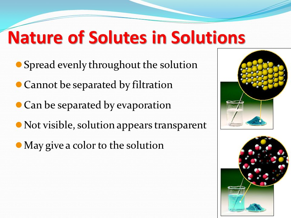 Gas in a Gas  Air Gas in a Liquid  Soda Liquid in a Liquid  Gasoline Solid in a Liquid  Sea Water Solids in Solids  Brass saladsoil water Solutions Examples Non-Examples