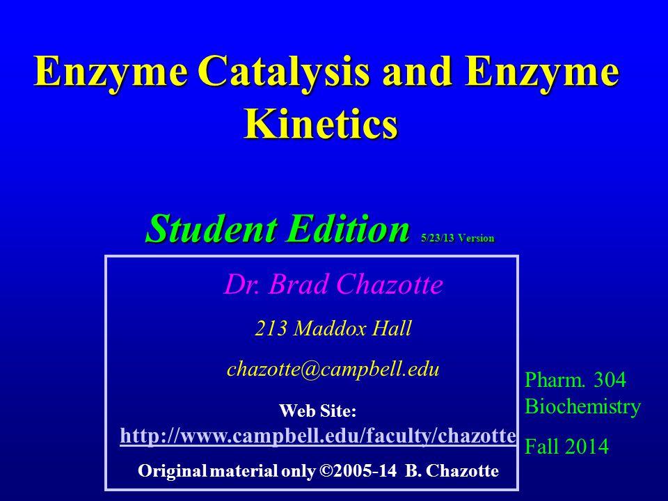Steady-State (Briggs-Haldane) III E + S k1 k-1 ES kp E + P At steady-state.