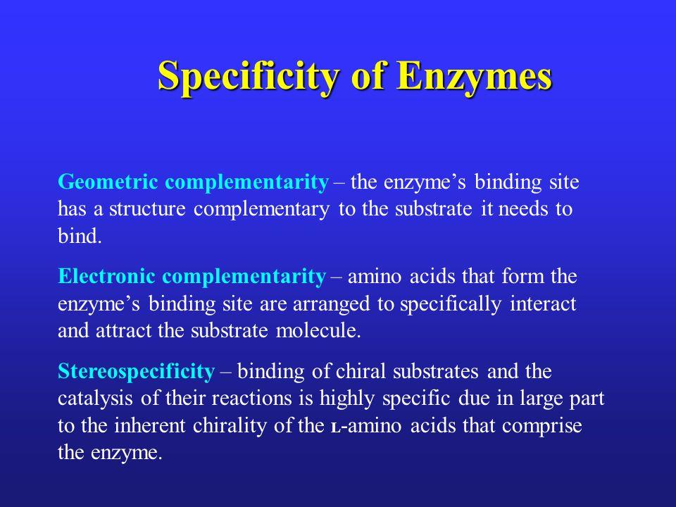 Enzyme- Substrate Complex Illustration Voet, Voet & Pratt 2013 Fig 11.1