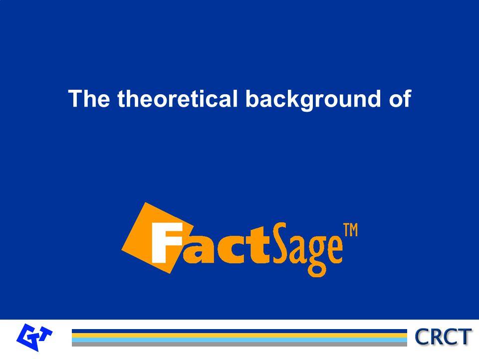 GTT-Technologies Equilibrium condition: or Reaction : n A A + n B B +...