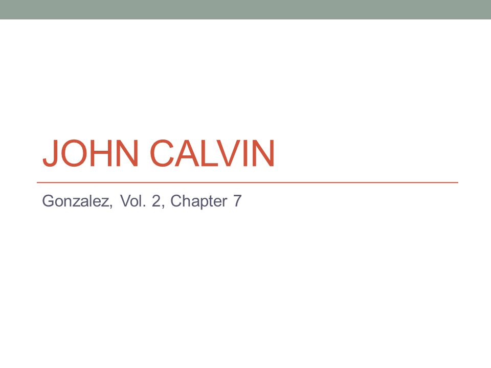 JOHN CALVIN Gonzalez, Vol. 2, Chapter 7