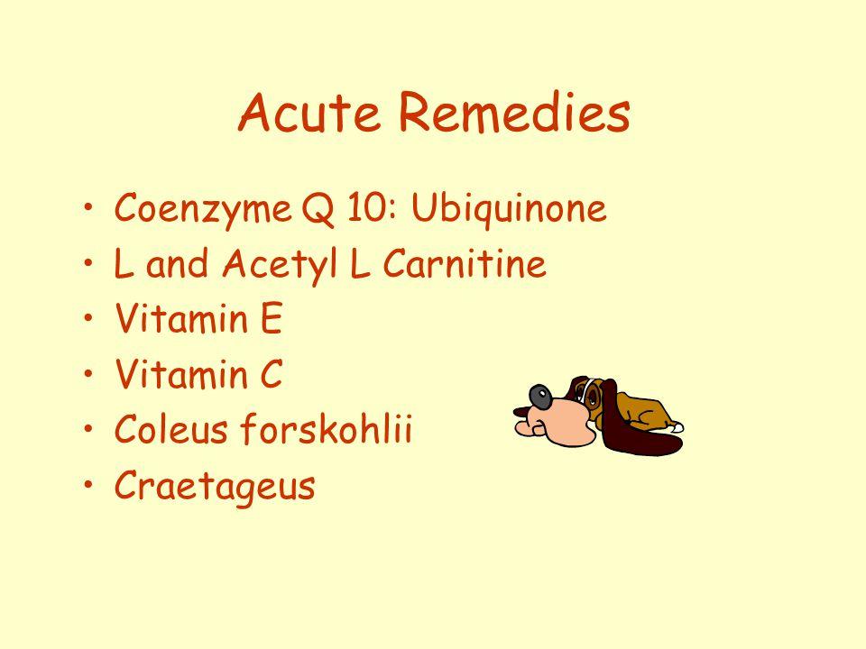 A pplying Acute Remedies 1.