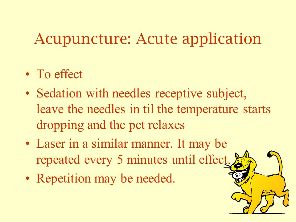 Acupuncture for Acute Conditions G.V.