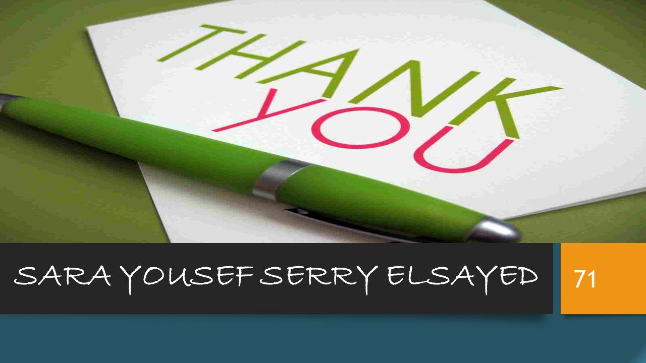 SARA YOUSEF SERRY ELSAYED 71