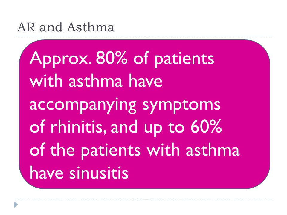 AR and Asthma Approx.