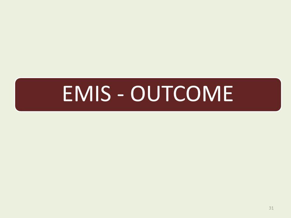 EMIS - OUTCOME 31