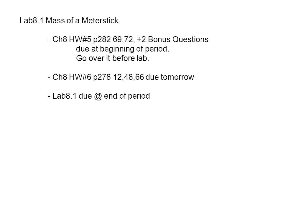Ch8 HW#6 p278 12,48,66 12.