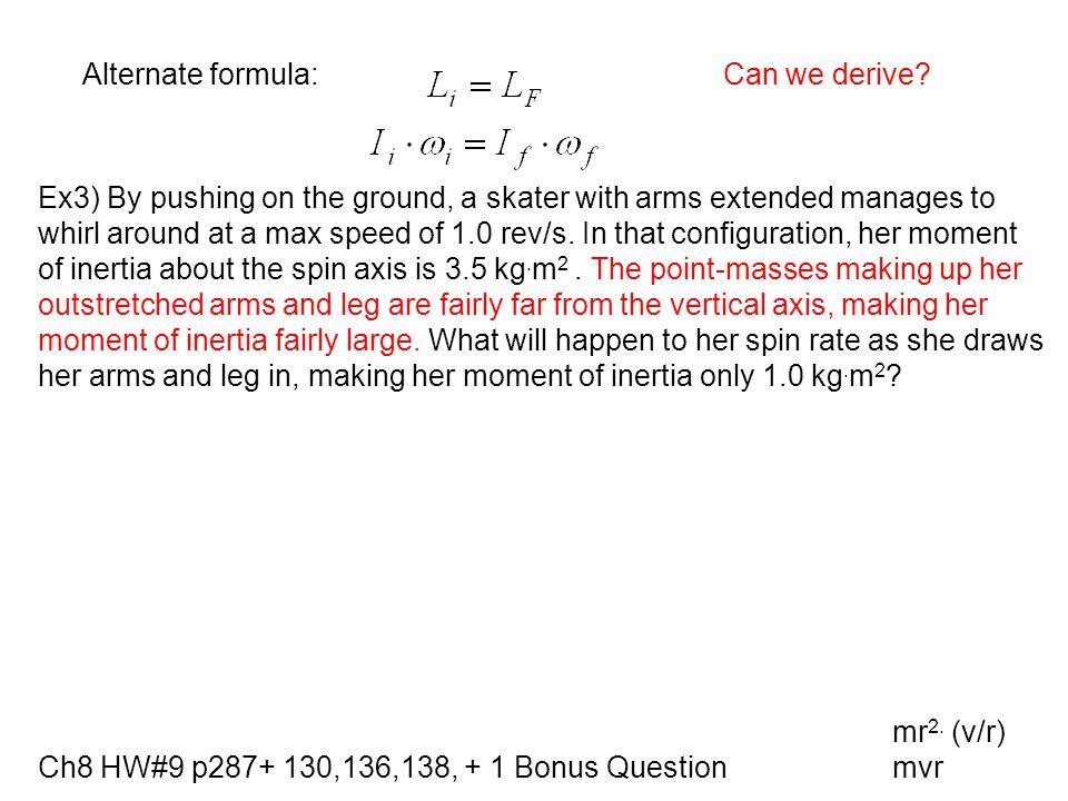 Ch8 HW#9 p287+ 130,136,138, + 1 Bonus Question 130.
