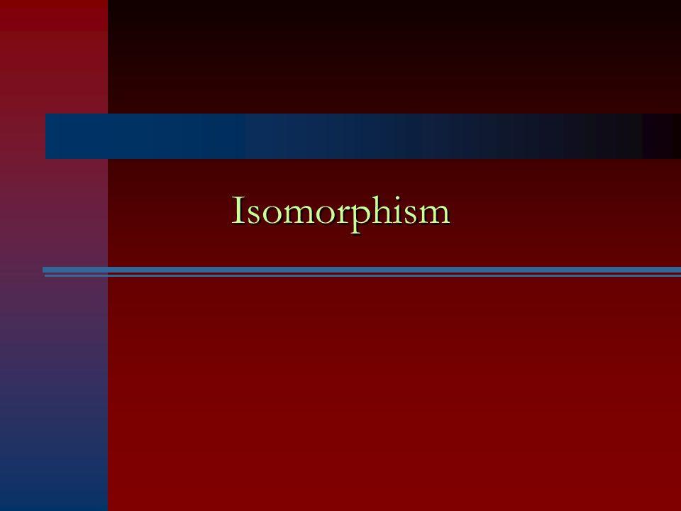 Isomorphism
