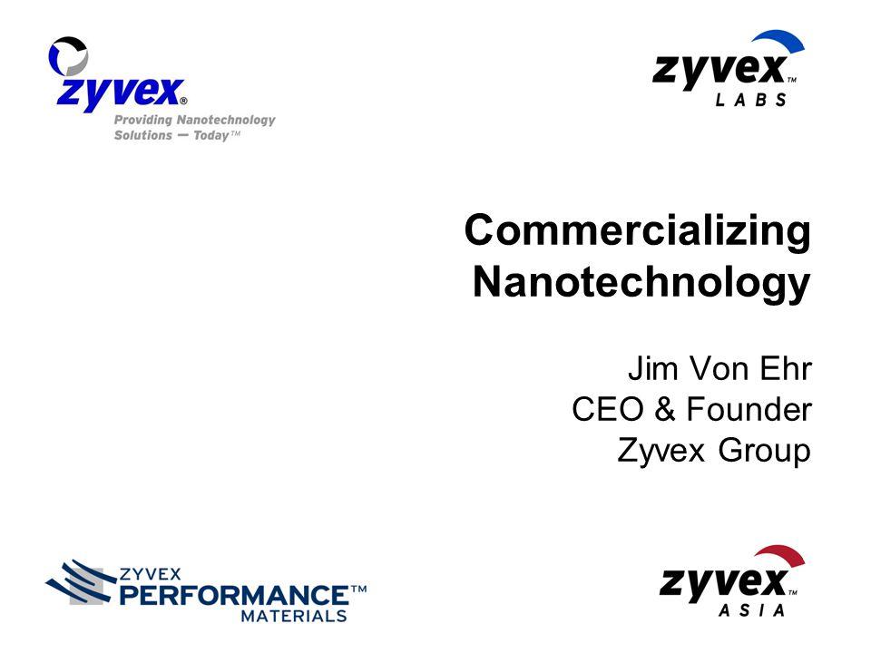 © 2007, Zyvex Instruments, LLC 2 Nano: Big Opportunity Source: BCC Research Zyvex