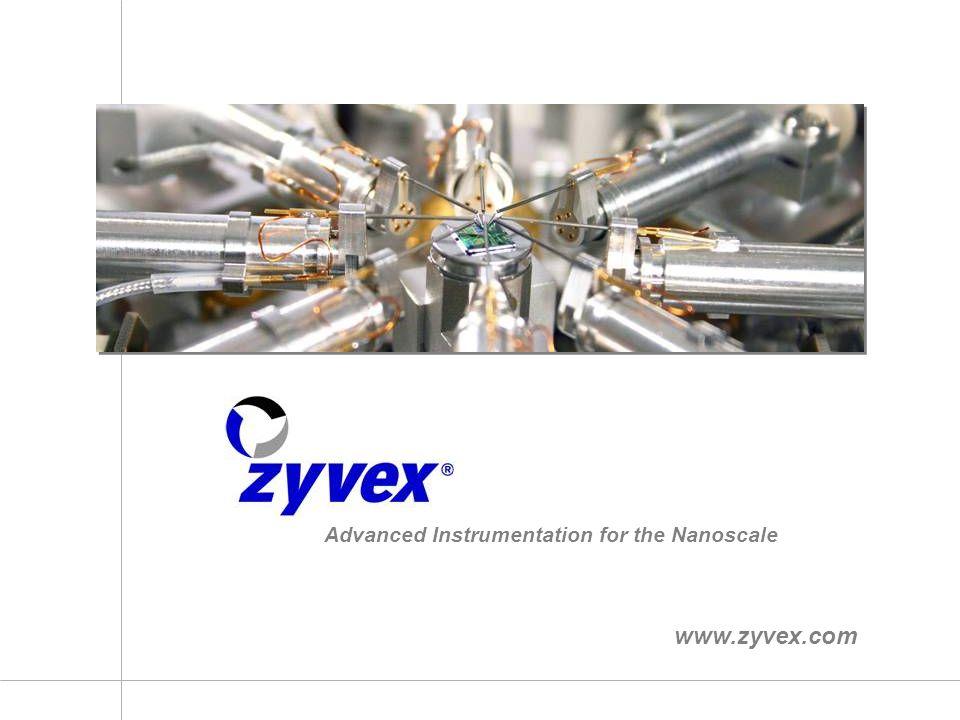 Advanced Instrumentation for the Nanoscale www.zyvex.com