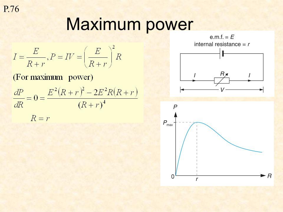R 1 = V / I = 1 ΩR 2 = V / I = 2 / 5 = 0.4 Ω ΔR = R 2 - R 1 = 0.4 – 1 = - 0.6 Ω