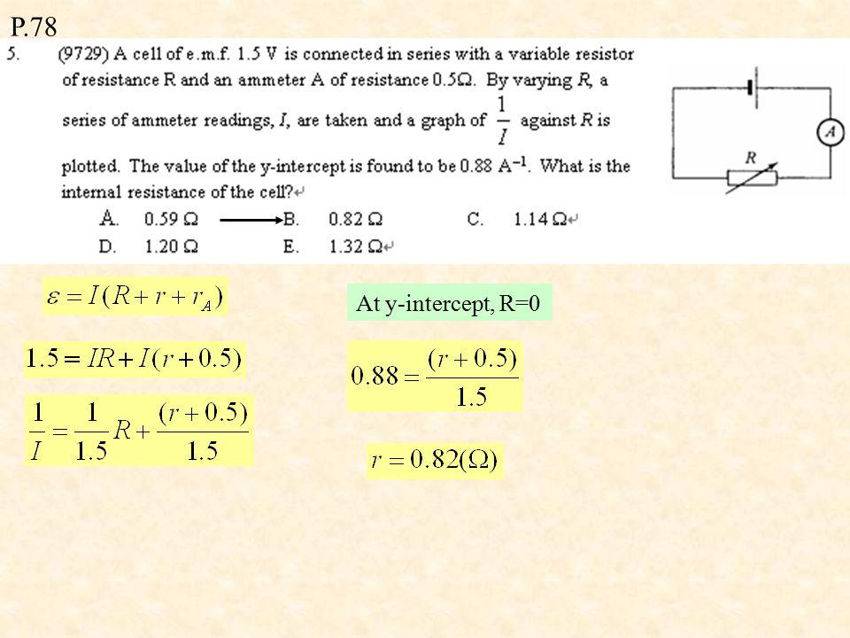 P.78 L x = 3 L y m x = m y A x L x = A y L y 3 A x = A y P = I 2 R