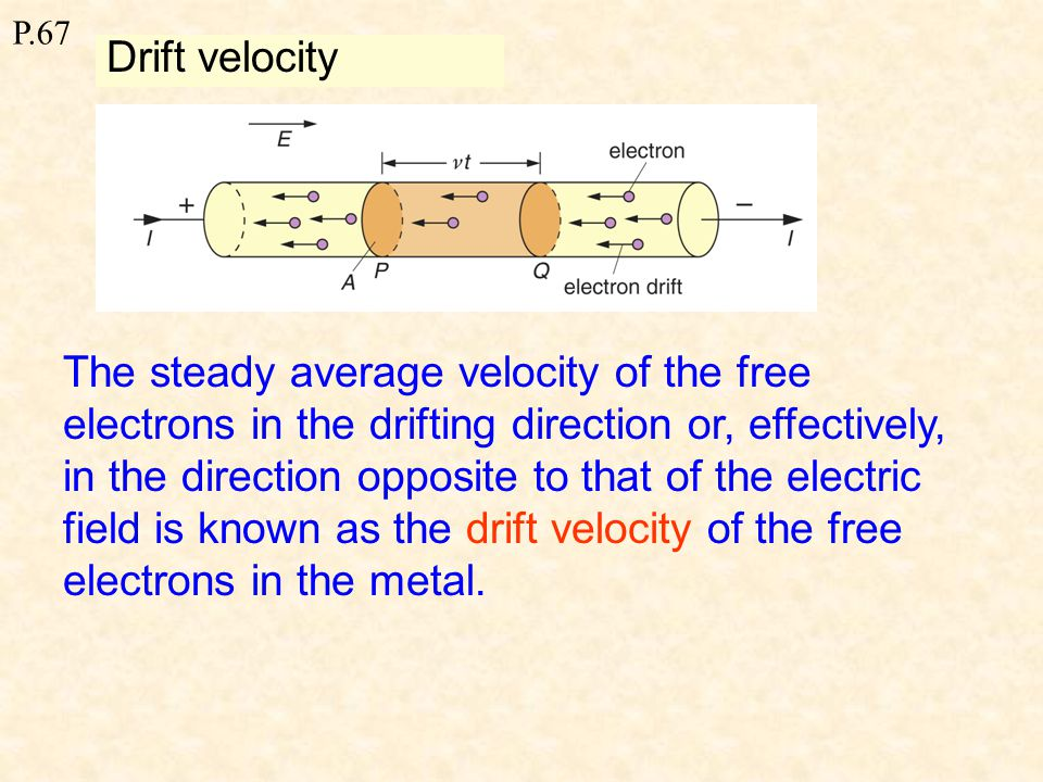 P.69 Potential difference (p.d.) The potential difference (p.d.) between two points in a circuit is the energy converted from electrical potential energy to other forms when one coulomb of charge passing between the points outside the power source.