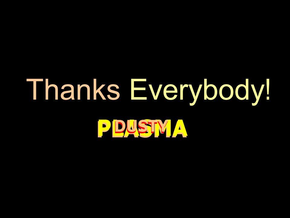 Thanks Everybody !