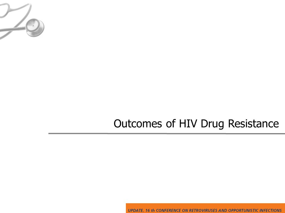 Outcomes of HIV Drug Resistance