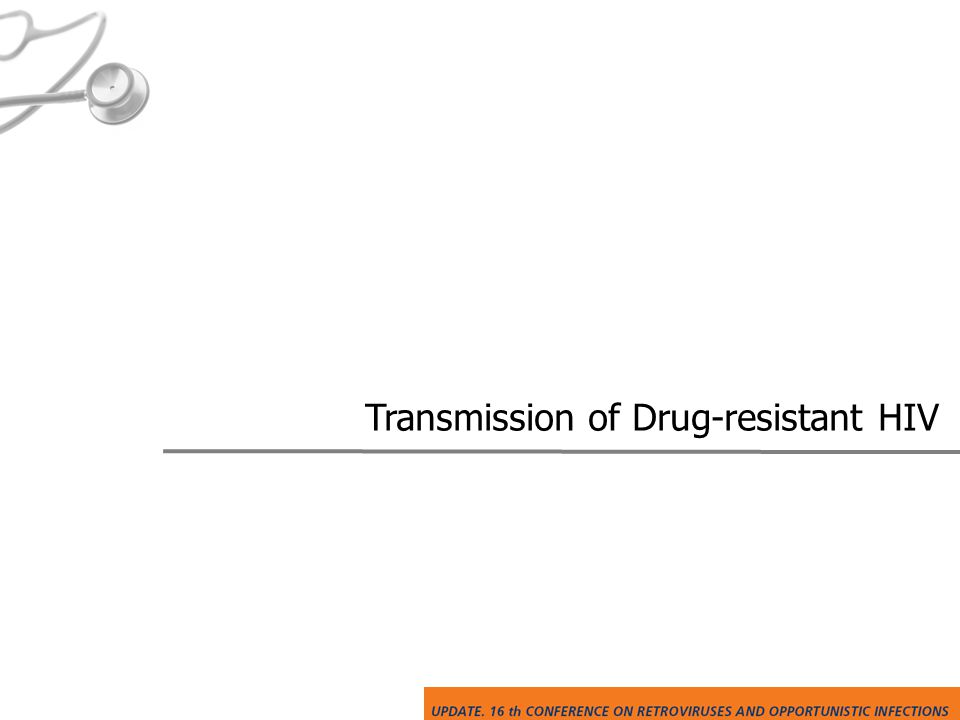 Transmission of Drug-resistant HIV