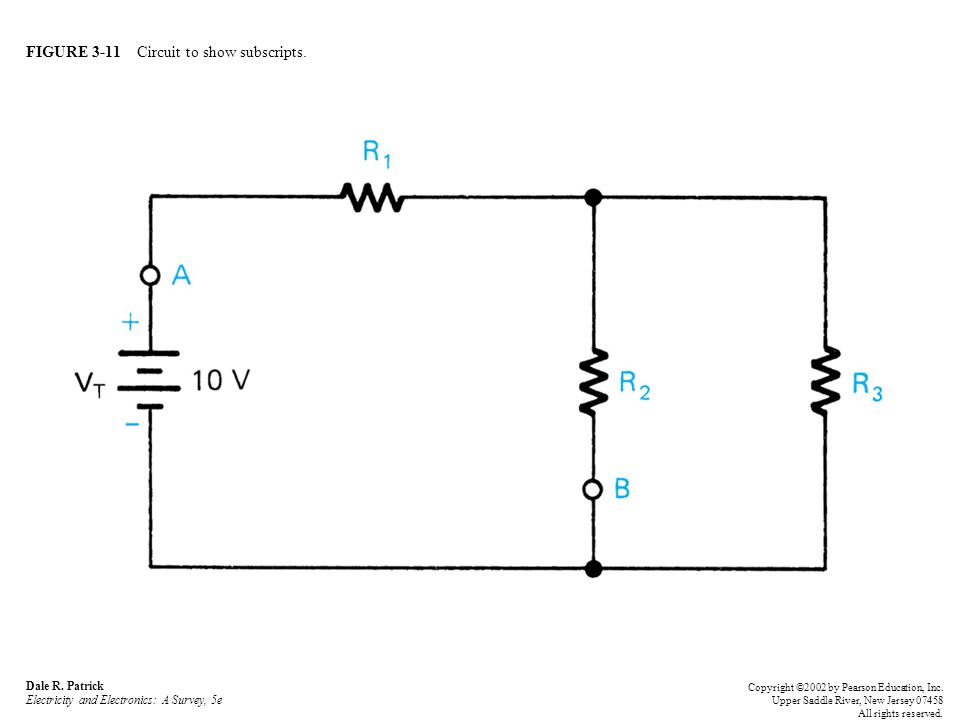FIGURE 3-11 Circuit to show subscripts. Dale R.