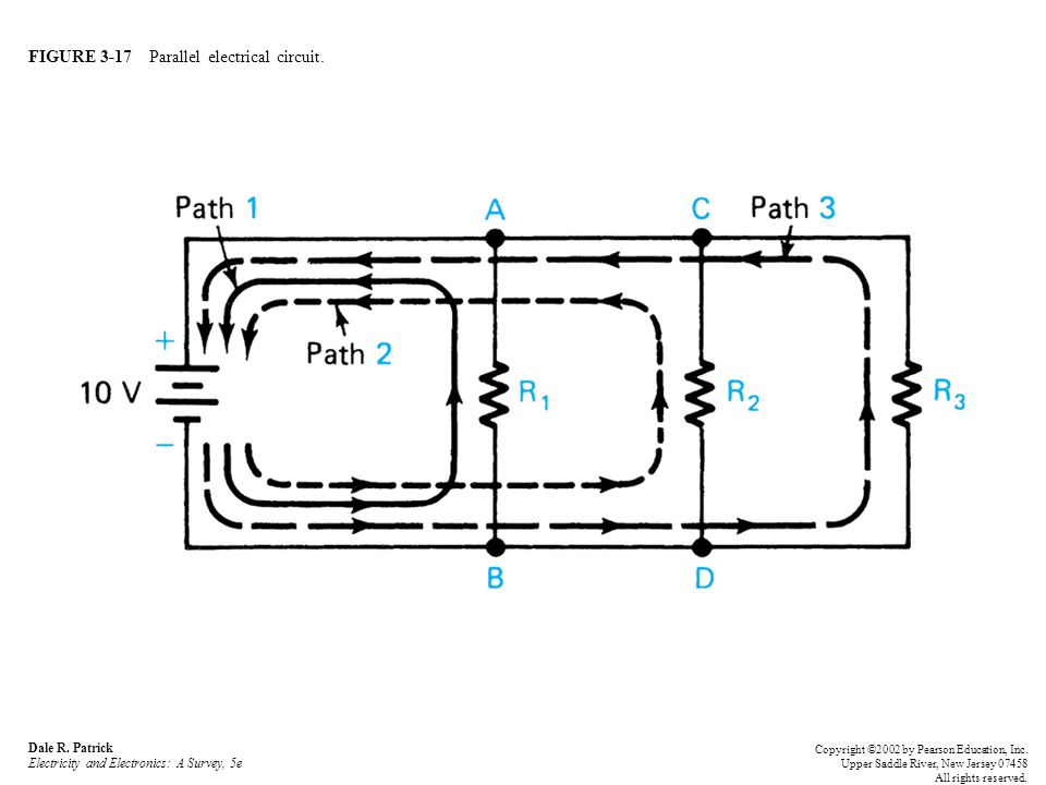 FIGURE 3-17 Parallel electrical circuit. Dale R.