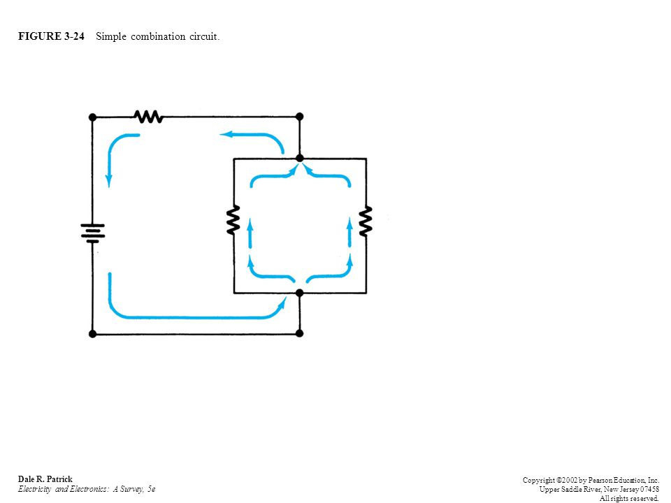 FIGURE 3-24 Simple combination circuit. Dale R.