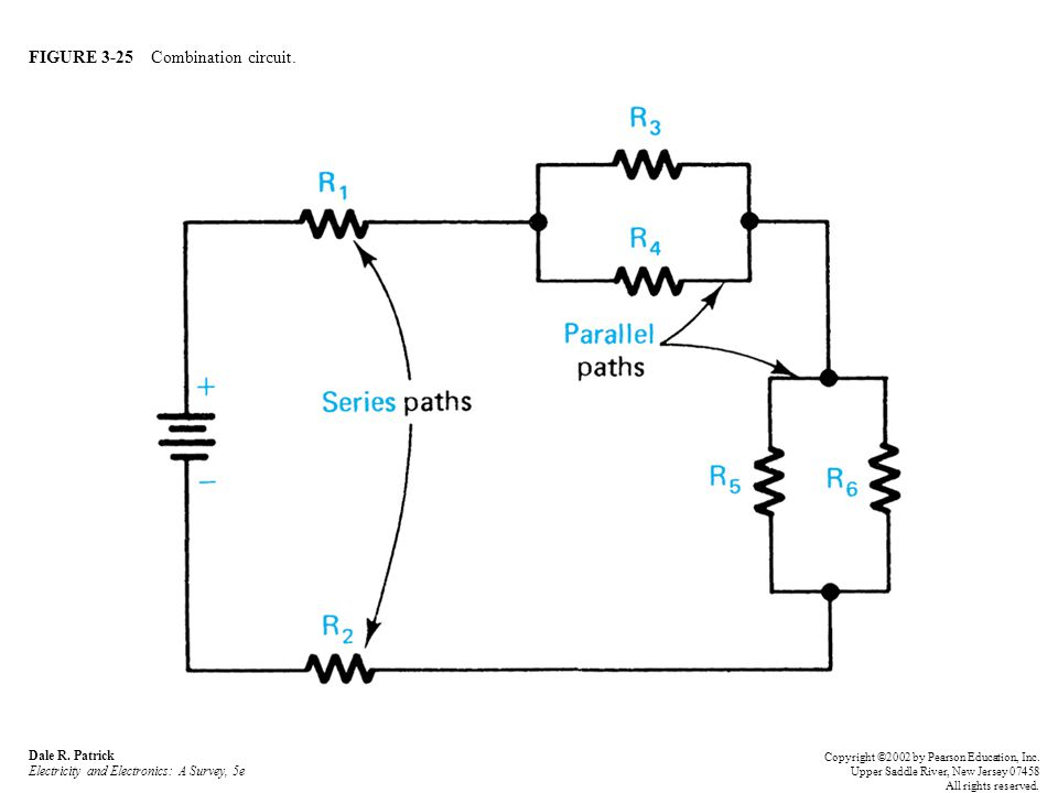 FIGURE 3-25 Combination circuit. Dale R.