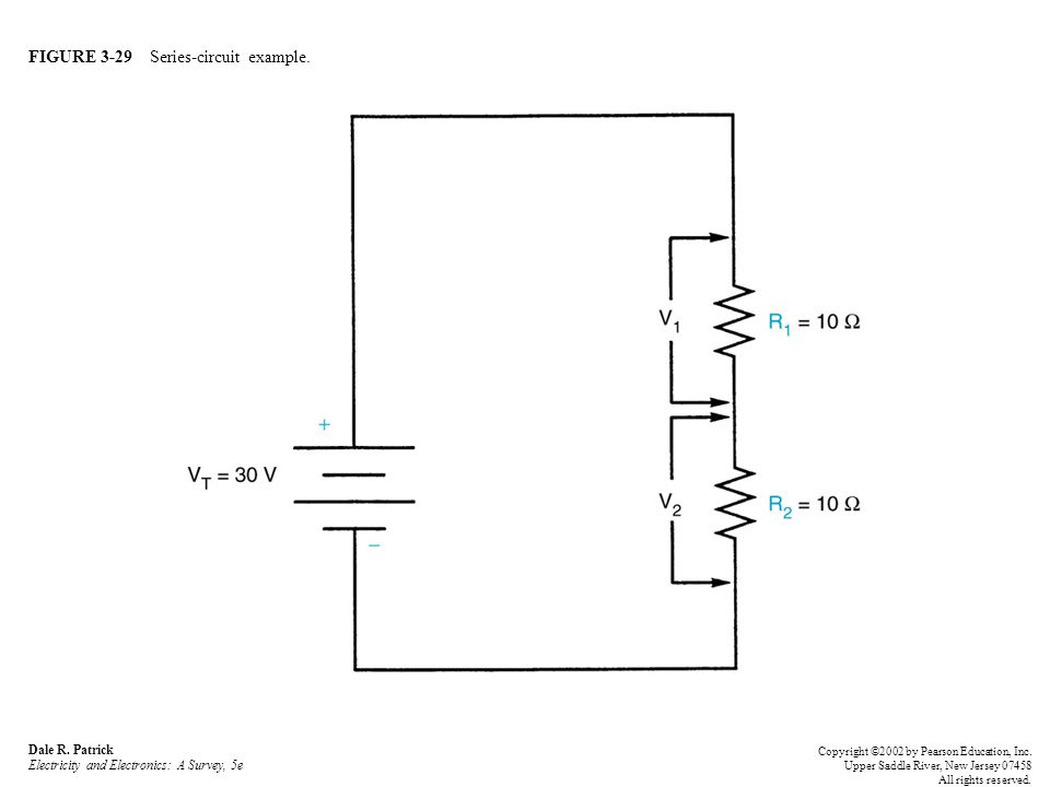 FIGURE 3-29 Series-circuit example. Dale R.
