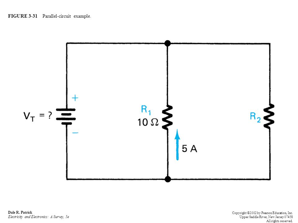FIGURE 3-31 Parallel-circuit example. Dale R.