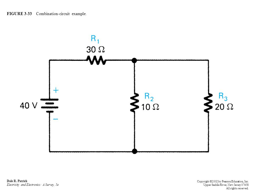 FIGURE 3-33 Combination-circuit example. Dale R.