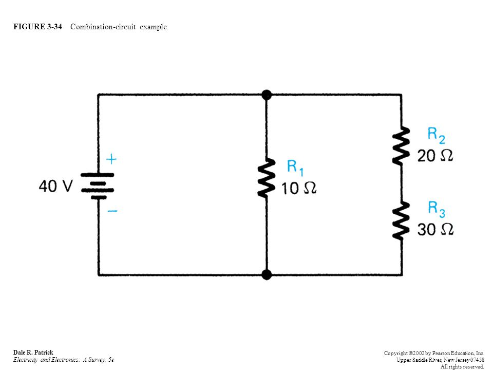 FIGURE 3-34 Combination-circuit example. Dale R.