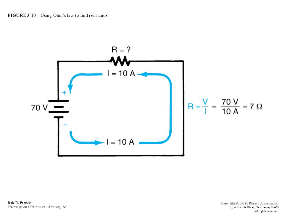 FIGURE 3-29 Series-circuit example.Dale R.