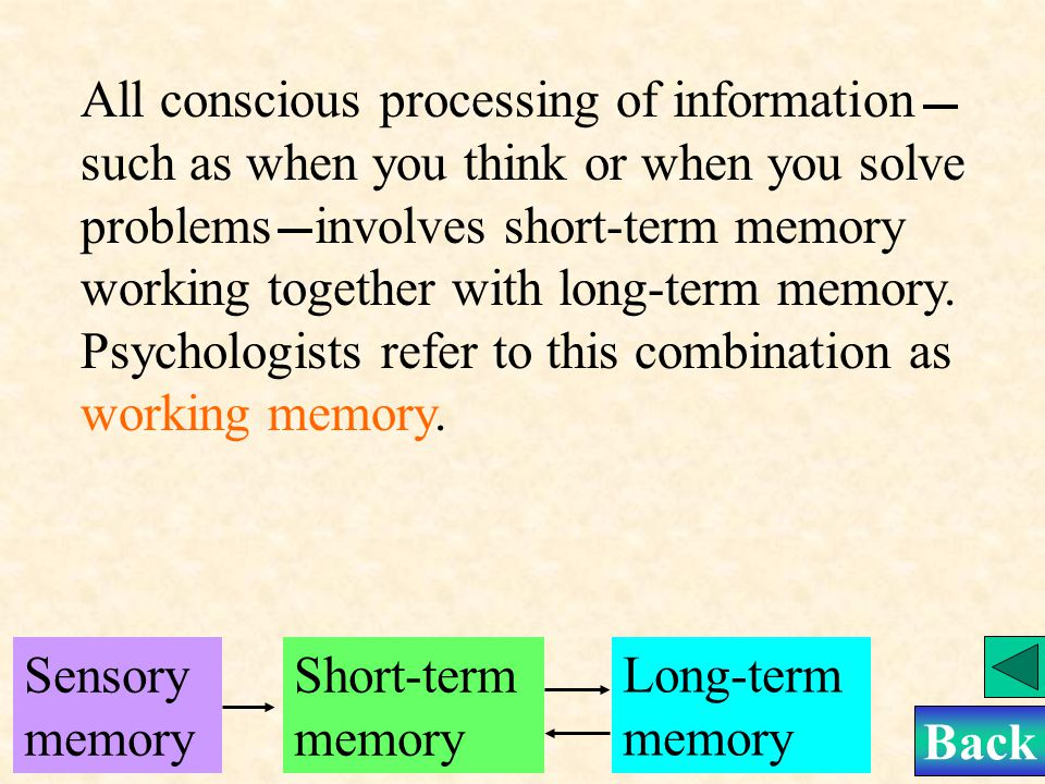 Short-term memory will become long-term memory when you encode them in your brain.