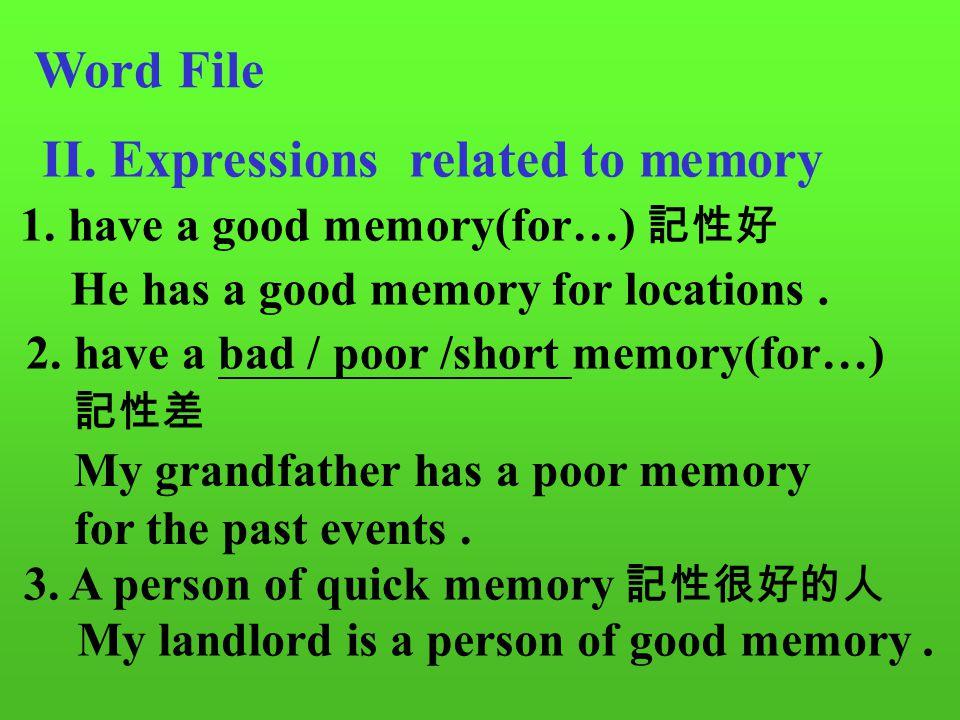 Word File I.