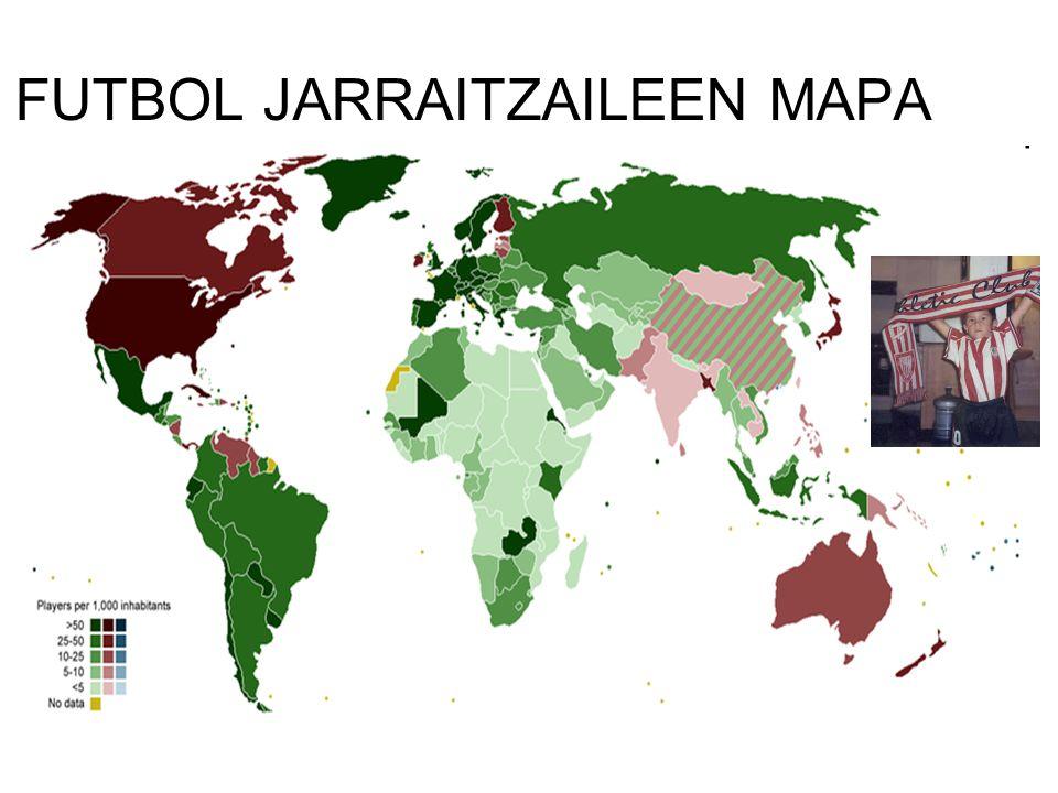 FUTBOL JARRAITZAILEEN MAPA