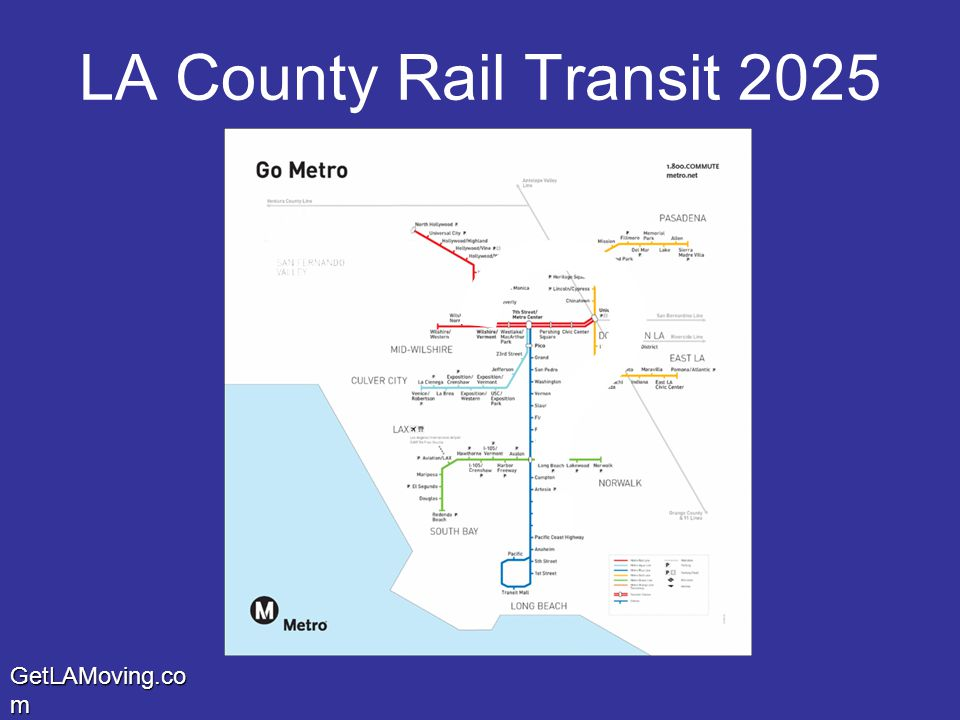GetLAMoving.co m LA County Rail Transit 2025