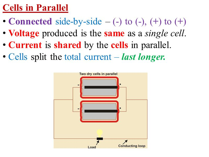 Resistors in Parallel Current in a parallel circuit splits up.