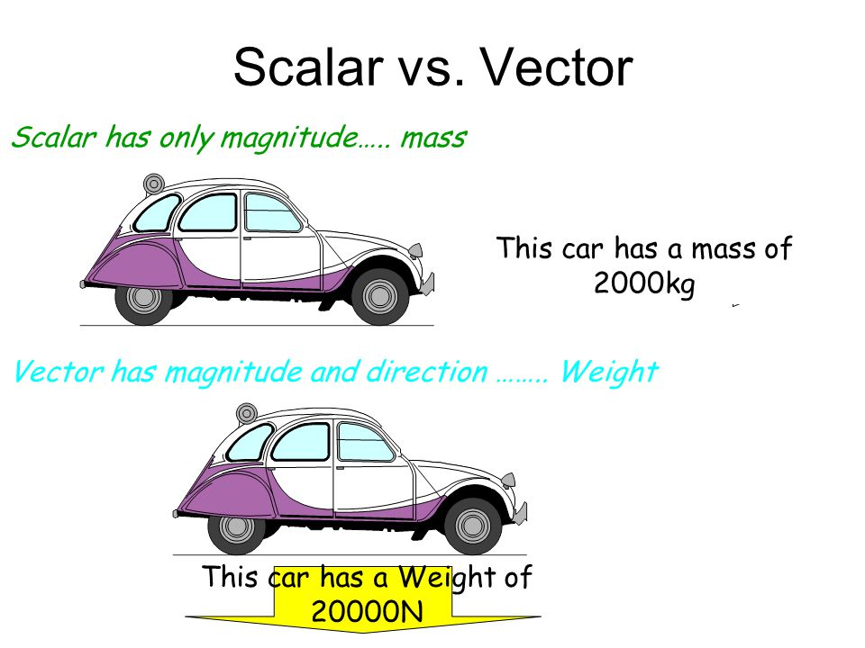"""Speed vs. Velocity Speed is simply how fast you are travelling… Velocity is """"speed in a given direction""""… This car is travelling at a speed of 20m/s T"""