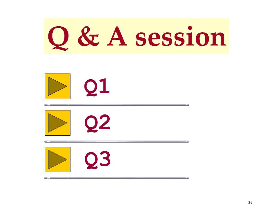 34 Q & A session Q1 Q2 Q3