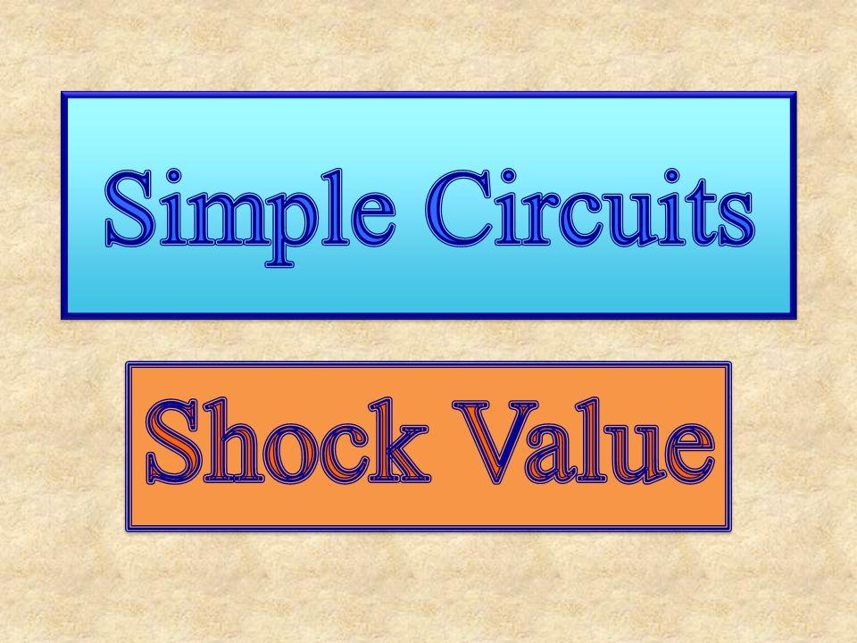 Parallel Circuits I S = I 1 + I 2 = … V S = V 1 = V 2 = … Then: V P /R P = V 1 /R 1 + V 2 /R 2 But: V S = V 1 = V 2 So: 1/R P = 1/R 1 + 1/R 2 = … But: V S = V 1 = V 2 So: 1/R P = 1/R 1 + 1/R 2 = … 1 2