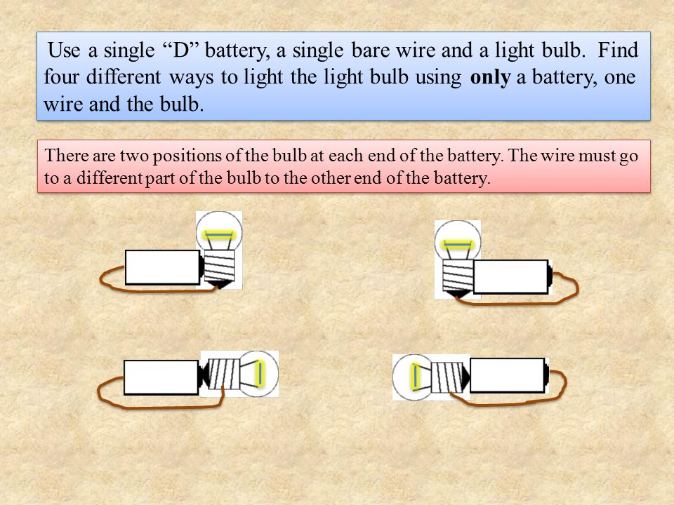 Obviously, there are two important parts of the battery.