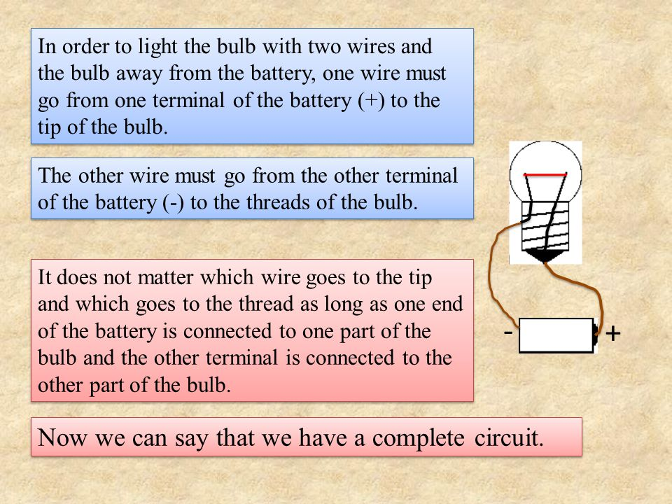 How would one define a complete circuit, which we will call just a circuit.