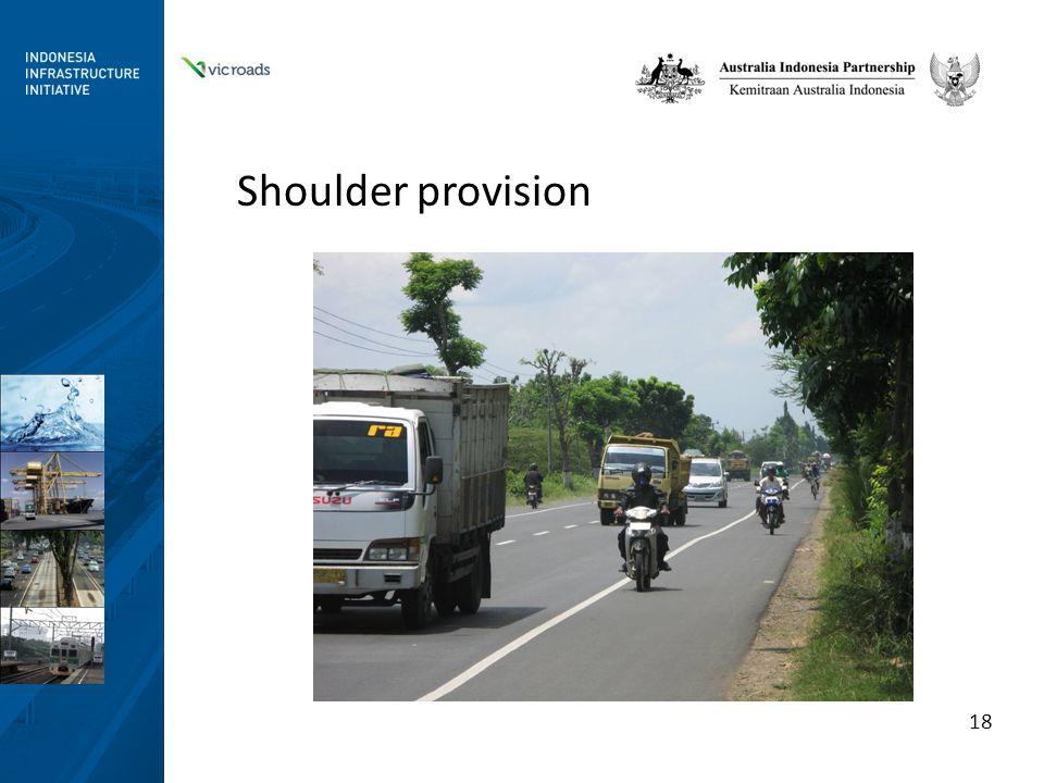 Shoulder provision 18