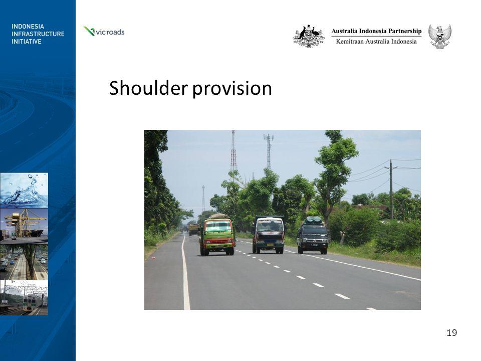 Shoulder provision 19