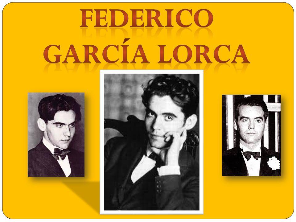 Federico García Lorca was born on June the 5th of 1898 and died on August the 19 th of 1936 Federico García Lorca was a poet and Spanish dramatist.