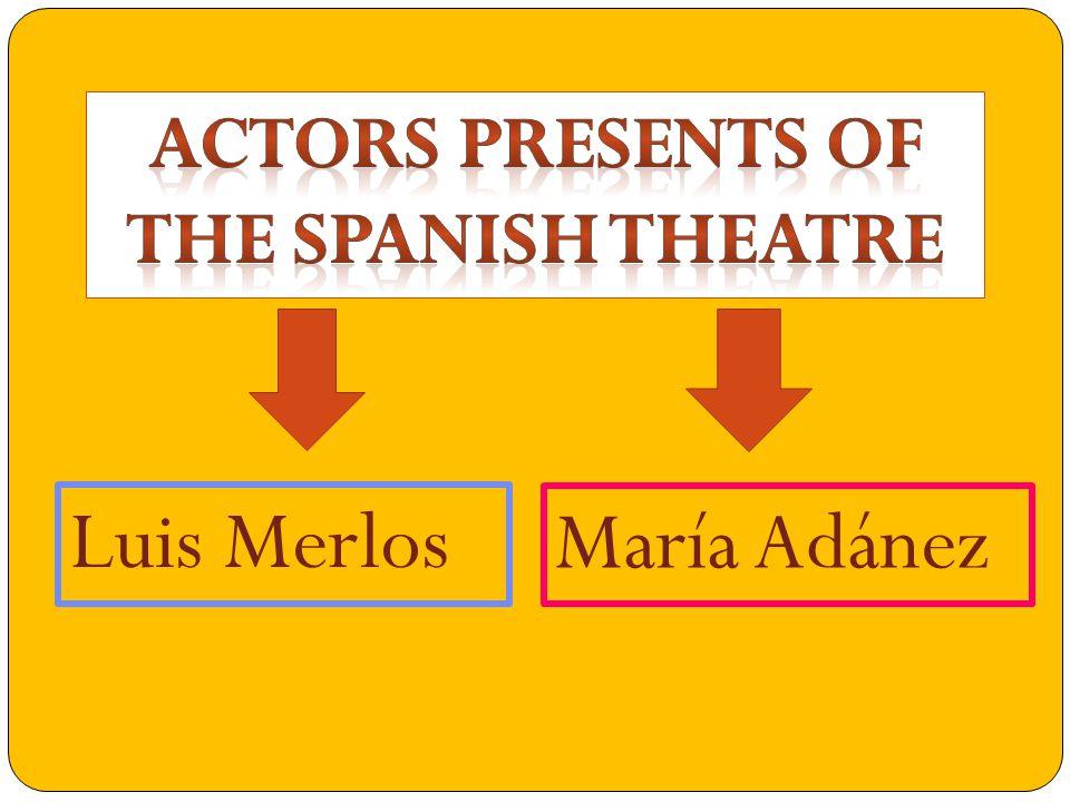 In Aquí No Hay Quien Viva … Luis Merlo in a theater play…